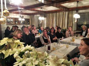 Weihnachtsfeier im Gasthaus Lachinger in Witzling