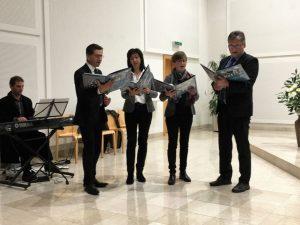 Musikalische Umrahmung bei der Hospizgedenkfeier