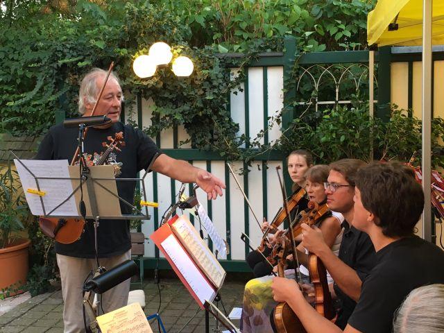 Die Vöcklabrucker Sinnfonics zugunsten der Hospizbewegung Vöcklabruck