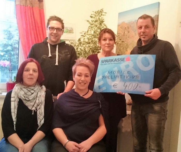 Ottnanger Freunde sammelten für das Mobile Palliativteam