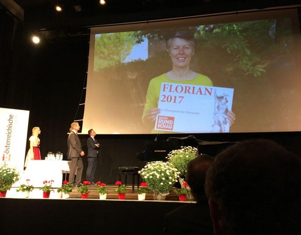 Florian 2017 an Ilse Retzek-Wimmer