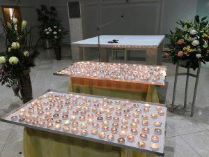 Gedenkfeier Hospiz 2017 - für jeden Verstorbenen ein Foto