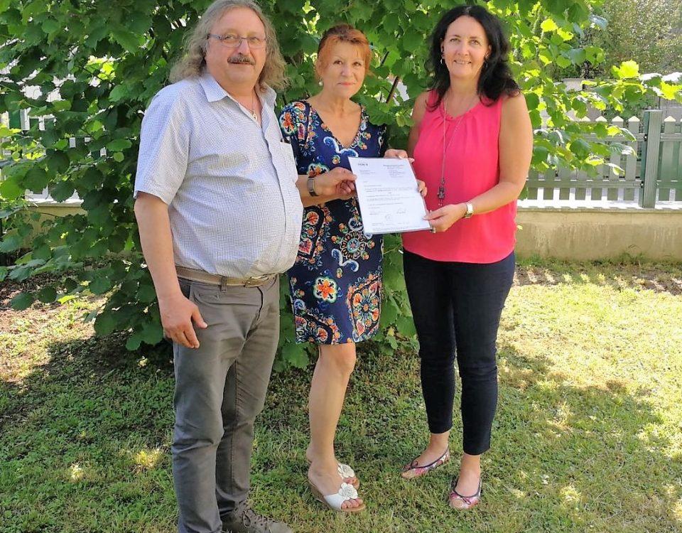 Lenzinger Vereine spendeten € 500,00