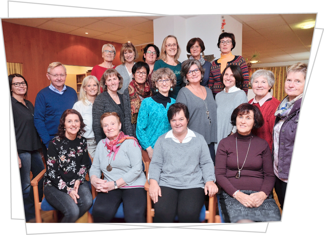 Das ehrenamtliche Team der Hospizbewegung