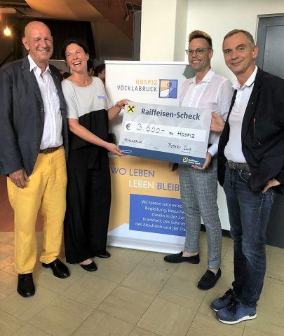 Große Spende vom RC Vöcklabruck - Attersee