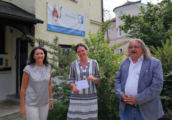 Spende der Gemeinde Lenzing